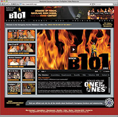 Canned Fire Volunteer Firefighter Recruitment and Retention Campaigns - B101 web site