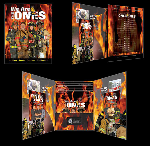 Canned Fire Volunteer Firefighter Recruitment and Retention Campaigns - Presentation Folder