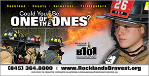 Canned Fire Volunteer Firefighter Recruitment and Retention Campaigns - Road Sign - Youth 1